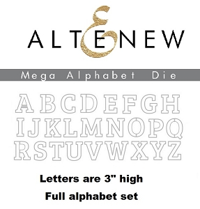 Altenew - Cutting Dies - Mega Alphabet Ultimate Bundle