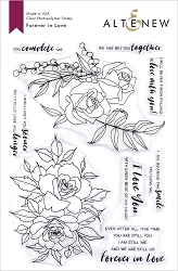 Altenew - Clear Stamps - Forever In Love
