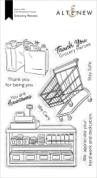 Altenew - Clear Stamps - Grocery Heroes