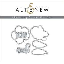 Altenew - Cutting Dies - Flowering Cistus