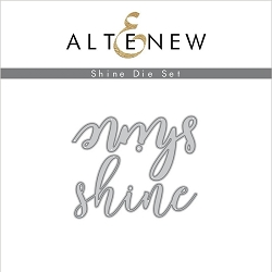 Altenew - Cutting Dies - Shine