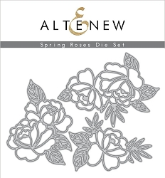 Altenew - Cutting Dies - Spring Roses Die Set