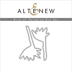 Altenew - Cutting Dies - Bird of Paradise