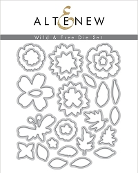 Altenew - Cutting Dies - Wild & Free