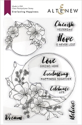 Altenew - Clear Stamps - Everlasting Happiness