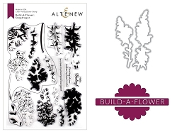 Altenew - Clear Stamps & Die bundle - Snapdragon Build-a-Flower
