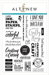 Altenew - Clear Stamps - Crafty Life