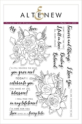 Altenew - Clear Stamps - Forever and Always