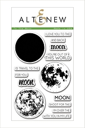 Altenew - Clear Stamps - To The Moon