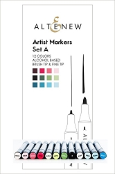 Altenew - Artist Markers - 12 color Set A