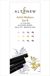 Altenew - Artist Markers - 12 color Set B