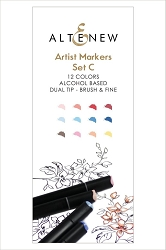 Altenew - Artist Markers - 12 color Set C