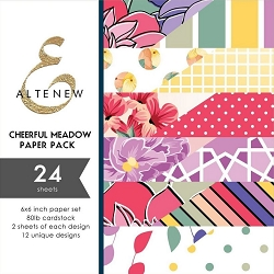 Altenew - 6x6 Paper Pack - Cheerful Meadow
