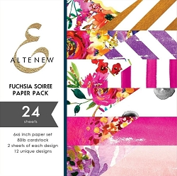Altenew - 6x6 Paper Pack - Fuchsia Soiree