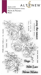 Altenew - Clear Stamps - Paint-A-Flower: Rose