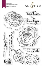 Altenew - Clear Stamps - Sweet Nothings