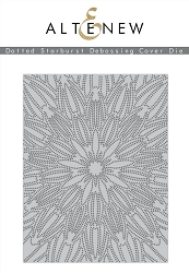 Altenew - Cutting Dies - Dotted Starburst Debossing Cover Die