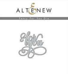 Altenew - Cutting Dies - Fancy For You Die