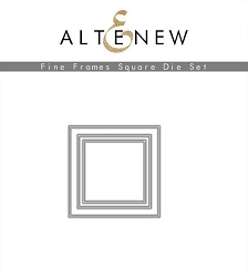Altenew - Cutting Dies - Fine Frames Square Die Set