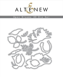 Altenew - Cutting Dies - Open Blooms 3D Die Set