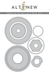 Altenew - Cutting Dies - Spheres & Spirals