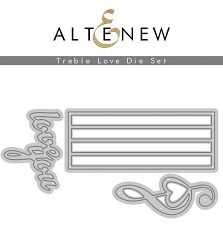 Altenew - Cutting Dies - Treble Love
