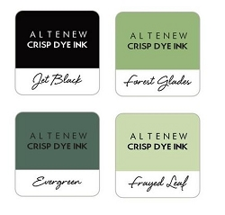 Altenew - Green Fields 4 color Ink Cube Set