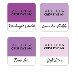 Altenew - Shades of Purple 4 color Ink Cube Set