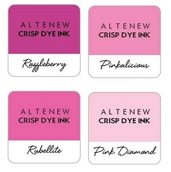 Altenew - Cherry Blossom 4 color Ink Cube Set