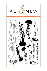 Altenew - Clear Stamps - Painted Jellyfish