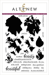Altenew - Clear Stamps - Perennial Beauty