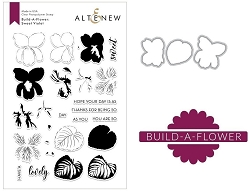 Altenew - Clear Stamps & Die bundle - Sweet Violet Build-a-Flower