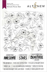 Altenew - Clear Stamps - Delicate Flower Bed
