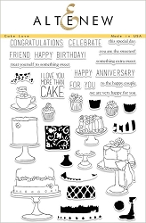 Altenew - Clear Stamps - Cake Love