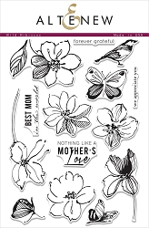 Altenew - Clear Stamps - Wild Hibiscus