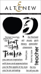 Altenew - Clear Stamps - Teachers Rule
