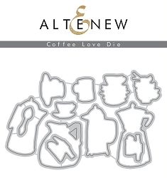 Altenew - Cutting Dies - Coffee Love