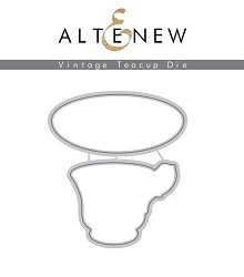 Altenew - Cutting Dies - Vintage Teacup