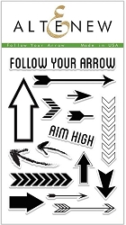 Altenew - Clear Stamps - Follow Your Arrow