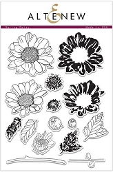 Altenew - Clear Stamps - Spring Daisy