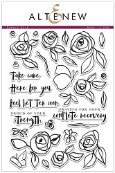 Altenew - Clear Stamps - Bamboo Rose