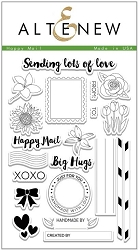 Altenew - Clear Stamps - Happy Mail