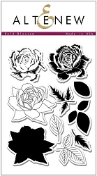 Altenew - Clear Stamps - Bold Blossom