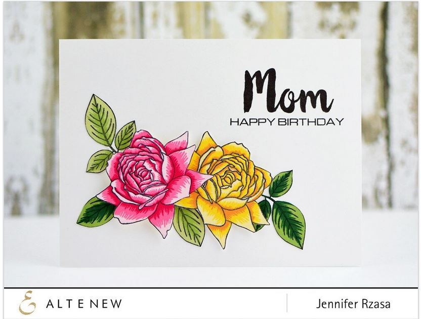 Clear Stamps with Matching Dies