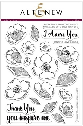 Altenew - Clear Stamps - Adore You