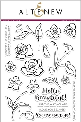 Altenew - Clear Stamps - Amazing You