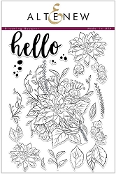 Altenew - Clear Stamps - Blooming Bouquet