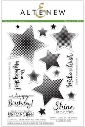 Altenew - Clear Stamps - Halftone Stars