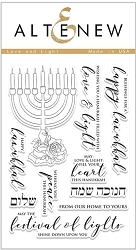 Altenew - Clear Stamps - Love and Light