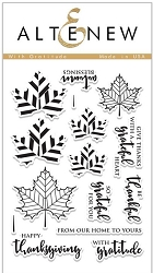 Altenew - Clear Stamps - With Gratitude